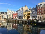 Nyhavn captured on a freezing cold winters morning