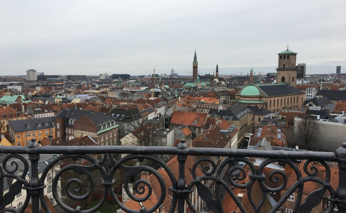Copenhagen Cityscape As Seen from Above